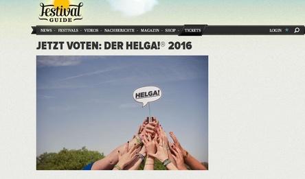 Findet wieder im Imperialtheater statt: die Festivalpreisverleihung Helga! (Bild: Screenshot, festivalguide.de)