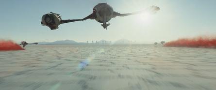 """Geht als Nummer eins der deutschen Kinocharts ins neue Jahr: """"Star Wars: Die letzten Jedi"""" (Bild: Walt Disney)"""