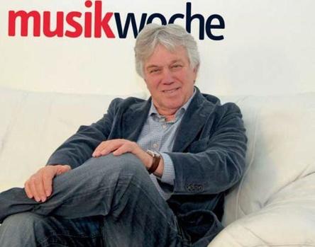 Gern gesehener Gast auf der MusikWoche-Couch: Rolf Zuckowski (Bild: MusikWoche)