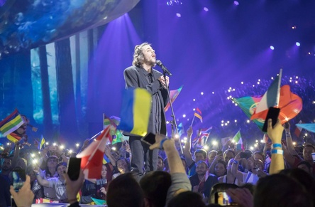 Standort steht: Eurovision Song Contest 2018 in Lissabon