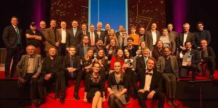 Gewinner, Jurymitglieder und Organisatoren der 39. Biberacher Filmfestspiele (Bild: Biberacher Filmfestspiele)