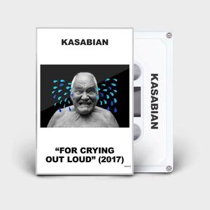 """Gibt es als limitierte Version im Onlineshop von Kasabian: """"For Crying Out Loud"""" auf Kassette (Bild: Columbia Records)"""