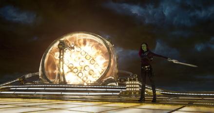 """Guardians of the Galaxy Vol. 2"" überholen jetzt schon den ersten Teil (Bild: Walt Disney)"