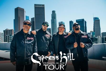 Haben auch neues Songmaterial dabei: Cypress Hill (Bild: Karsten Jahnke Konzertdirektion)
