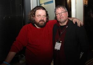 Haben Programm für elf Abende in Bonn gebucht: Martin J. Nötzel (links) und Ernst-Ludwig Hartz (Bild: MusikWoche)