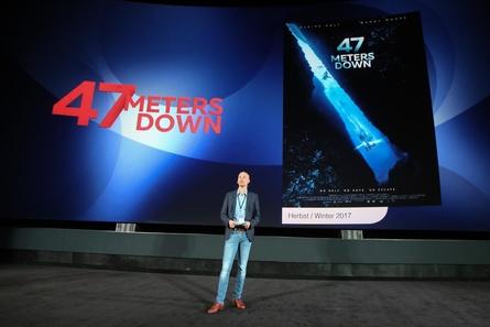 """Hai-Light in der Universum-Staffel: Florian Peuler versprach """"Ultraspannung"""" bei """"47 Meters Down"""" (Bild: Dirk Dobiey)"""