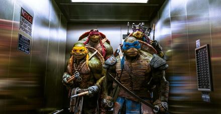 """Halten die Spitze: die """"Ninja Turtles"""" (Bild: Paramount)"""