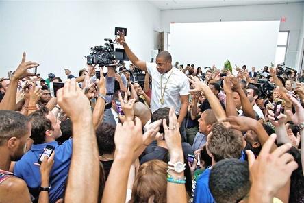 Hat bei Tidal in gut einem Jahr zahlreiche Nutzer um sich scharen k�nnen: Der Musiker, Unternehmer und Tidal-Inhaber Jay-Z, hier im Jahr 2013 (Bild: Universal Music)