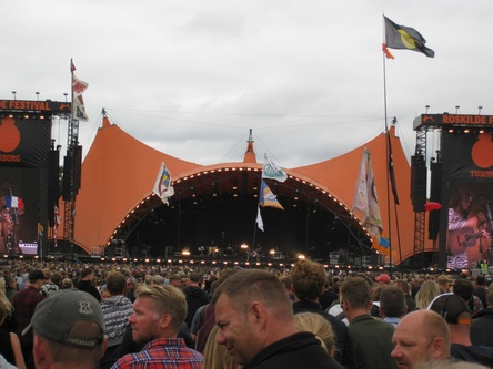 Hier stellte Eminem einen Besucherrekord auf: das dänische Roskilde-Festival (Bild: MusikWoche)