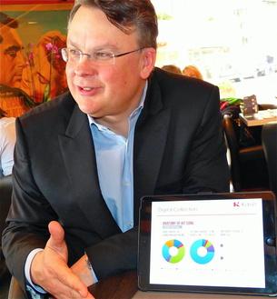 Holt Investor Bill Maris bei Kobalt ins Board: Willard Ahdritz (Bild: MusikWoche)