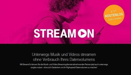 I nun neben Diensten wie Netflix oder Apple Music Teil von StreamOn: Deezer (Bild: Screenshot, telekom.de)