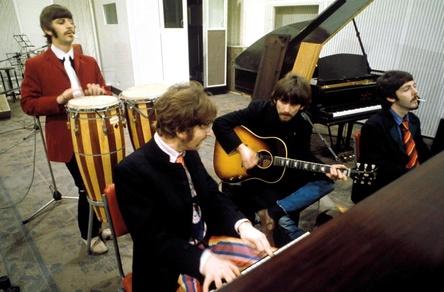 Ihre Musik wird noch heute gehört - auch auf Tonträgern: die Beatles (Bild: Apple Corps. Ltd)