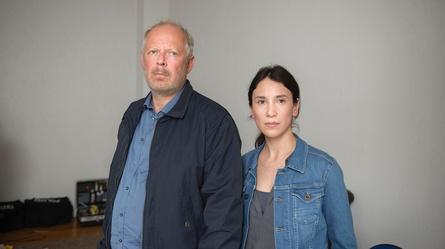 """Im """"Tatort: Borowski und das Fest des Nordens"""" lösten Axel Milberg und Sibel Kekilli ihren letzten gemeisamen Fall (Bild: NDR/Christine Schroeder)"""