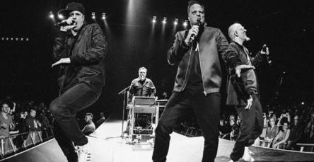 Immer noch eine Attraktion für Scharen von Fans: Die Fantastischen Vier live auf der Bühne (Bild: Carsten Klick)