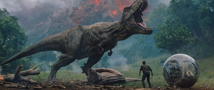"""""""Jurassic World 2"""" röhrt natürlich auf Platz eins (Bild: Universal)"""