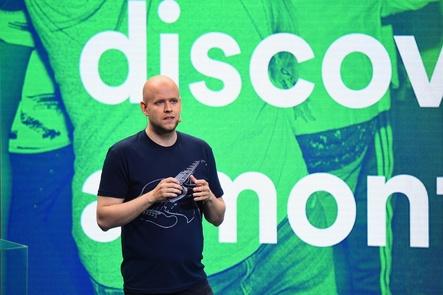 Kann mit Spotify weltweit wachsen, schreibt aber unterm Strich weiterhin massiv rote Zahlen: CEO Daniel Ek (Bild: Spotify)