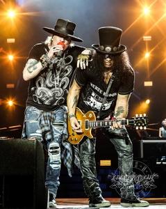Kehrten nach 24 Jahren ins Olympiastadion München zurück: Guns N' Roses (Bild: Live Nation)