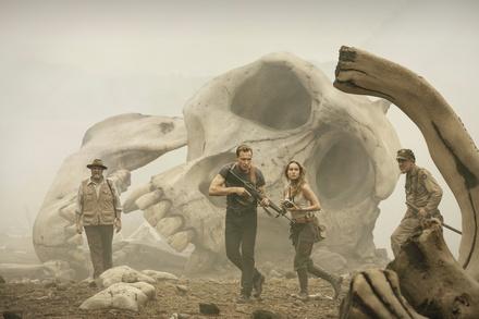 """""""Kong: Skull Island"""" hielt sich gut auf Platz zwei (Bild: Warner)"""