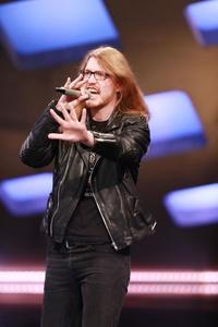 Konnte sich mit Metal nicht durchsetzen: der Kandidat Maximilian Galensa (Bild: Stefan Gregorowius/RTL)