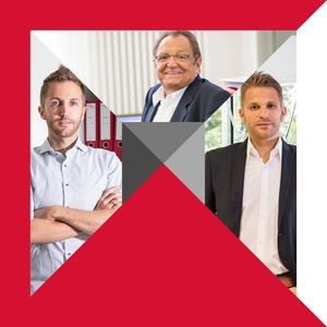 Leiten Künstlermedia Entertainment: Firmengründer Werner Kirsamer (oben) und seine Söhne Niko (links) und Steffen Kirsamer (Bild: Künstlermedia Entertainment)
