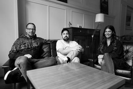 Leiten nun Der Bomber der Herzen (von links): Tim Böning, Ilke Ulusoy und Laura Eisenstecken (Bild: Der Bomber der Herzen)