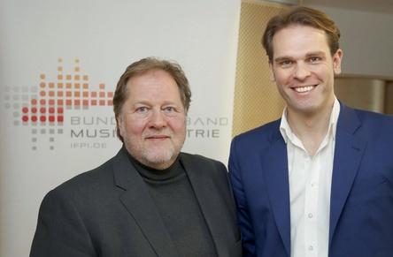 Machten den Wechsel zu Vox bereits frühzeitig klar: Dieter Gorny (links) und Florian Drücke (Bild: Markus Nass)