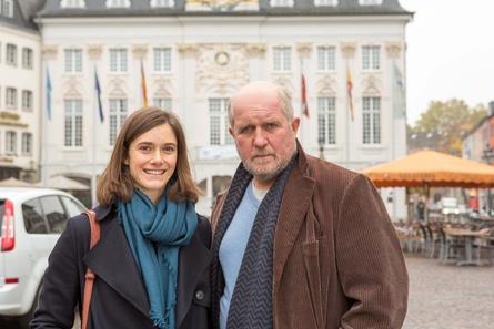 """Miriam Stein und Harald Krassnitzer im ZDF-Thriller """"Schattenfreundin"""" (Bild: ZDF/Michael Boehme)"""