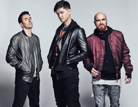 Mit dem fünften Album zum vierten Mal im UK-Markt ganz vorn: The Script (Bild: Sony Music)