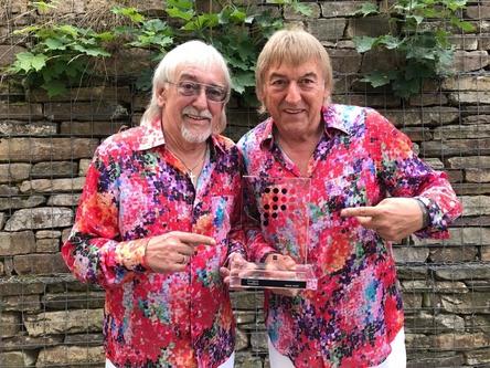 """Mit """"Zauberland"""" direkt an die Spitze der Offiziellen Charts: die Amigos (Bild: Sony Music)"""