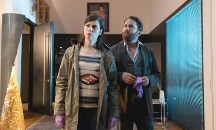 """Nora Tschirner und Christian Ulmen im ARD-""""Tatort: Der kalte Fritte"""" (Bild: MDR/Wiedemann & Berg/Anke Neugebauer)"""