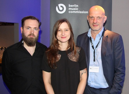 Richten erneut Most Wanted: Music aus (von links): Stephan Hengst, Jana Rahmlow und Olaf Kretschmar von der Berlin Music Commission (Bild: MusikWoche)