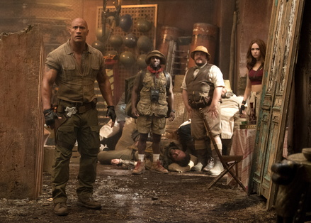 "Sensationserfolg in den USA: ""Jumanji"" (Bild: Sony Pictures)"