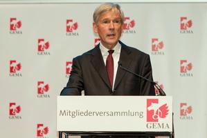 Setzte sich gegen RapidShare durch: Harald Heker, Vorstandsvorsitzender der GEMA (Bild: Mathias Vietmeier)