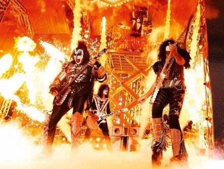 Sind am 25. Mai auf der Kinoleinwand zu erleben: Kiss (Bild: Katarina Benzova)