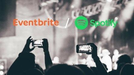 Soll zielgerichtet Tickets verkaufen: die Kooperation von Spotify und Eventbrite (Bild: Eventbrite)