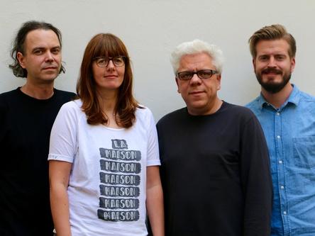 Sortieren die Verantwortlichkeiten bei PIAS Germany und PIAS Cooperative neu (von links): Thomas Sarkadi, Ilona Kleen, Stefan Strüver und Janik Haverkamp (Bild: PIAS Germany)