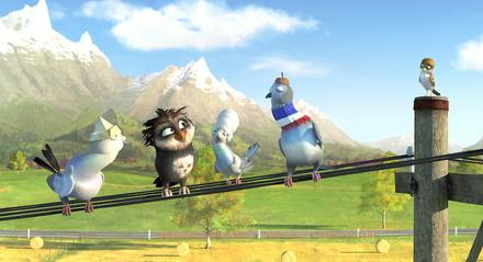 """Spaß für Kids: """"Überflieger: Kleine Vögel - großes Geklapper"""" (Bild: Wild Bunch (Central))"""