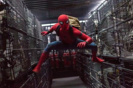 Spidey holte sich den zweiten Platz (Bild: Sony Pictures)