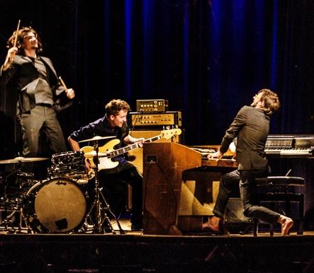 Spielen beim Klangfest: Organ Explosion (Bild: Sebastian Fery)