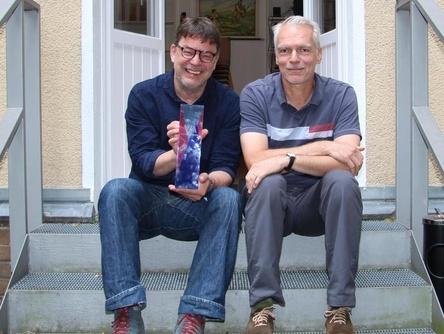 Sprechen für den VUT: Jörg Heidemann (links) und Christof Ellinghaus (Bild: MusikWoche)