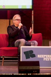 Spricht wieder beim Reeperbahn Festival: Herbert Grönemeyer, hier bei seiner Keynote 2014 (Bild: Nina Zimmermann)