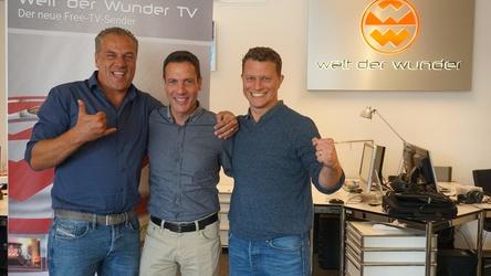 Starten ein neues Label (von links): Hendrik Hey, Harald Reitinger und Benjamin Bailer (Bild: Welt der Wunder)