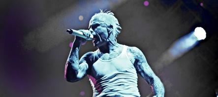 Steht beim BIME Festival auf der Bühne: Keith Flint von The Prodigy (Bild: Rahul Singh)