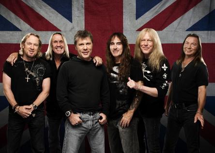 Steuern mit ihrer Boeing jetzt Dortmund an: Iron Maiden (Bild: John McMurtrie)