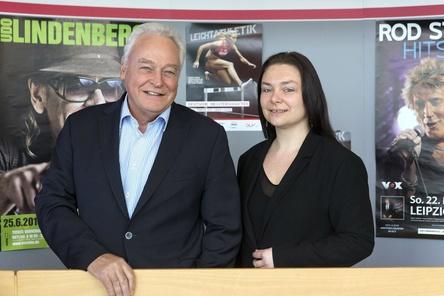 Stolz auf Rekordbesuch: Winfried Lonzen und Iris Rackwitz (Bild: Tom Schulze)