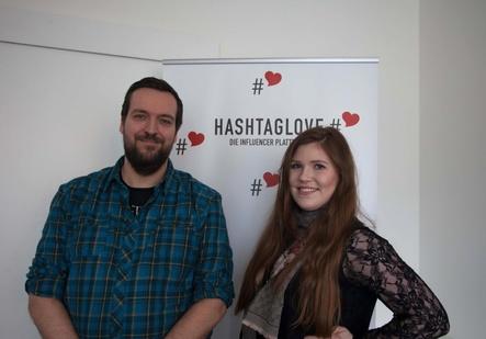 Stoßen zu Inpromo: Sebastian Vree und Ann-Vivien Wozniak (Bild: Inpromo)
