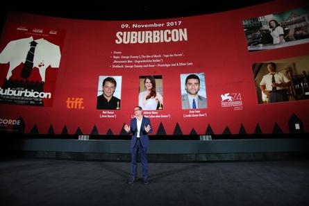 """""""Suburbicon"""" von George Clooney zählt zu den Highlights der Concorde Staffel, die Holger Fuchs in Köln präsentierte (Bild: Dirk Dobiey)"""