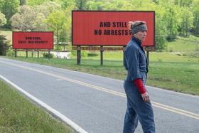 """""""Three Billboards Outside Ebbing, Missouri"""" zählt für das AFI zu den 10 besten Filmen des Jahres (Bild: Fox)"""