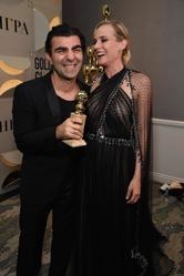 Triumph für Fatih Akin und Diane Kruger (Bild: HFPA)