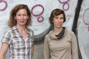 Tun sich zusammen: Alisa Wessel (links) und Anne Sawade-Eichler (Bild: Dirk Ecke)